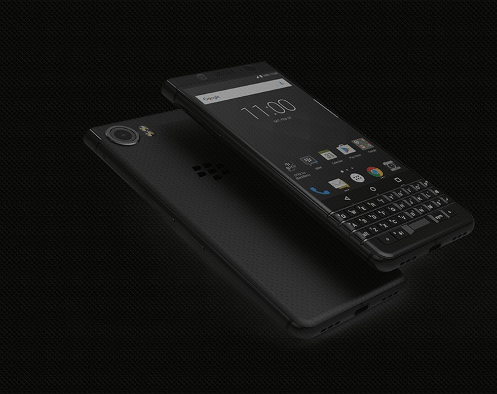 BlackBerry KEYone Black Edition sarà disponibile a Singapore