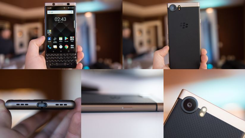 KEYone Bronze Edition in un video