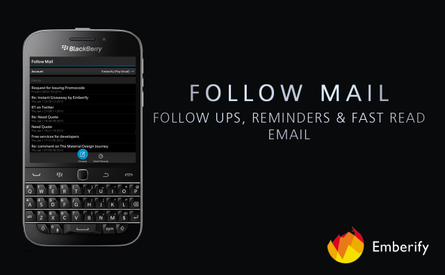 Follow Mail disponibile in BlackBerry World