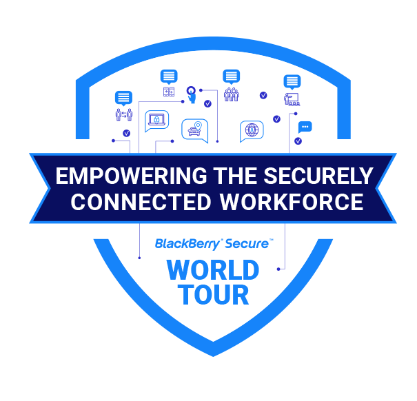 Registrati al BlackBerry Secure World Tour