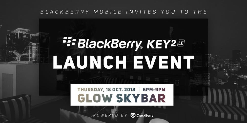 BlackBerry KEY2 LE Launch Event in Vietnam
